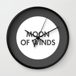 Moon of Winds (Celtic) Wall Clock