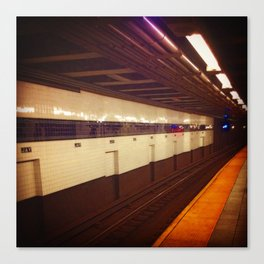 Jay Street Metro Tech, you're here... Canvas Print