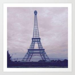 Paris, Tennessee Art Print