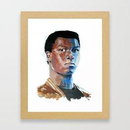 Finn - John Boyega Framed Art Print