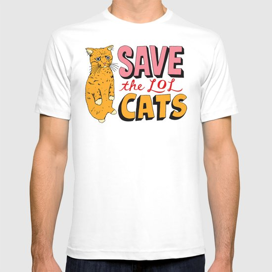 Save the LOL Cats T-shirt
