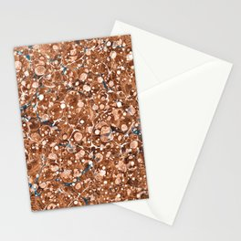 Vintage Marbled Texture - Organic Overdose Stationery Cards