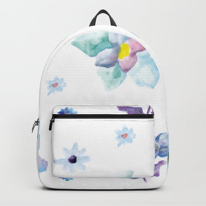 Delicate Floral Pattern 02 Backpack
