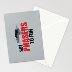Set Phasers to Fun! Stationery Cards