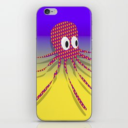 Colorful Rag Octopus iPhone Skin