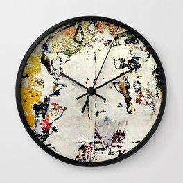 PALIMPSEST, No. 10 Wall Clock