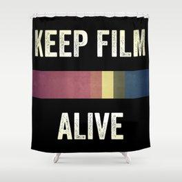 Keep Film Alive Shower Curtain
