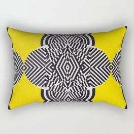 Look Into My Eyes Rectangular Pillow