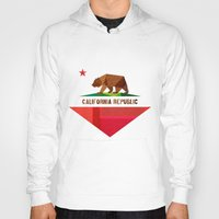 girl Hoodies featuring California by Fimbis