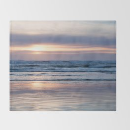 Beach Glow Throw Blanket
