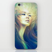 crown iPhone & iPod Skins featuring Crown by Anna Dittmann