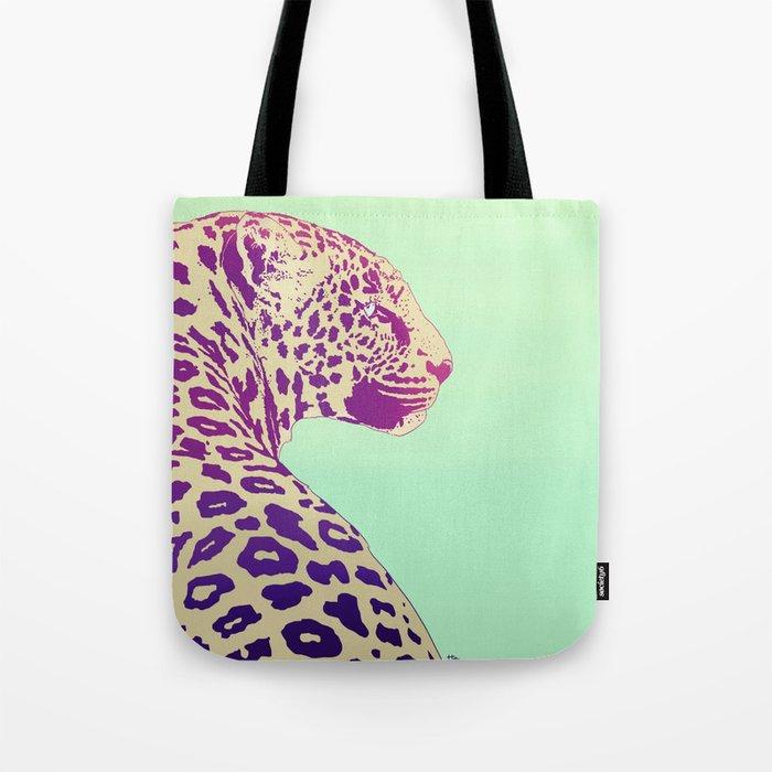 Leopard under the Sun Tote Bag