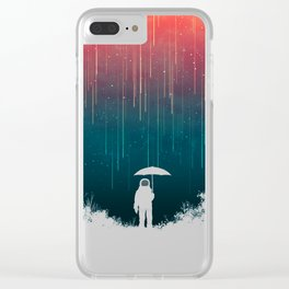 Meteoric rainfall Clear iPhone Case