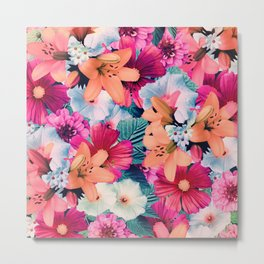 Flowers potpourri Metal Print