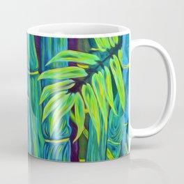 ʻOhe Polū - Blue Bamboo Coffee Mug