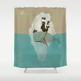 we are pirates too Shower Curtain