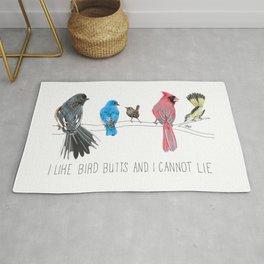 I Like Bird Butts And I Cannot Lie Rug