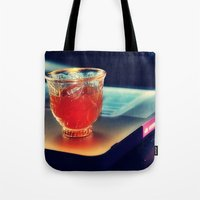 arabic Tote Bags featuring Arabic Coffee by Grim99