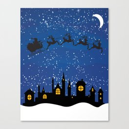 Twas The Night Before... Canvas Print