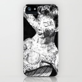 Underwater Shadows iPhone Case