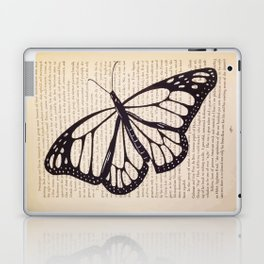 Butterfly in a Book Laptop & iPad Skin