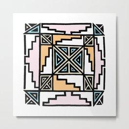 ojo de Baja Metal Print