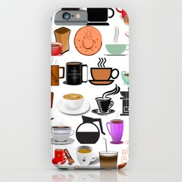 Coffee Mugs, Cups and Makers iPhone Case