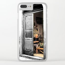 Vulture: old shoemaker Clear iPhone Case