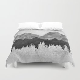 Layered Landscapes Duvet Cover