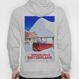 Grindelwald Ski Poster Hoody