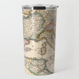 Vintage Map of The Roman Empire (1815) Travel Mug