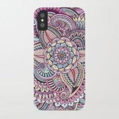 Henna Style Pattern Slim Case iPhone X