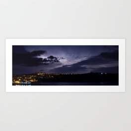 Storm Over Selmun Art Print