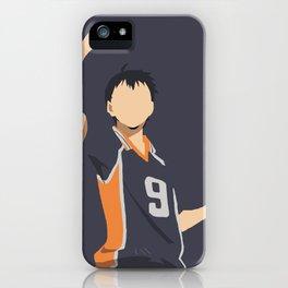 Haikyuu!! Minimalistic Kageyama Tobio iPhone Case