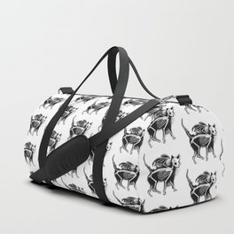 Devil Kitty Duffle Bag