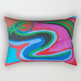Flail Rectangular Pillow
