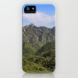 Discover China: Great Wall View iPhone Case