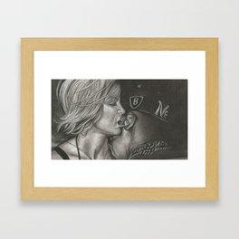 Mrs. Carter Two  Framed Art Print