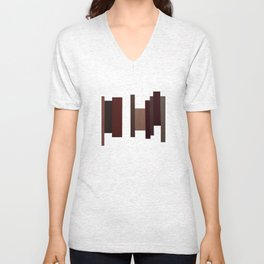 Abstract #1 Unisex V-Neck