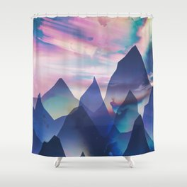 Opalescent Shower Curtain