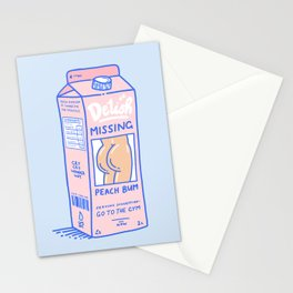 Missing Peach Bum Stationery Cards
