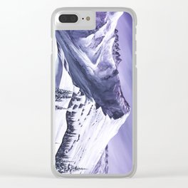 Pointe De Chesery Clear iPhone Case