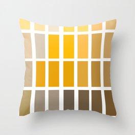 Munsell Chart Art / Archaeology Print/ Color Wheel Art Throw Pillow