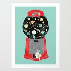 My childhood universe Art Print