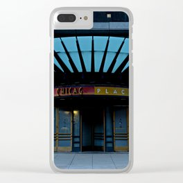 Chicago Place Clear iPhone Case