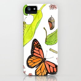 Monarch Life Cycle iPhone Case