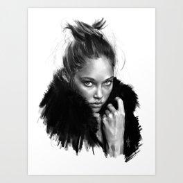 """sketch_01.25.15"" Art Print"