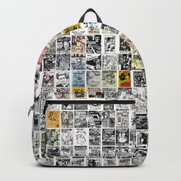 Punk Show Flyers Backpack
