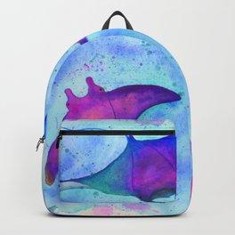 Neon Mantas Backpack