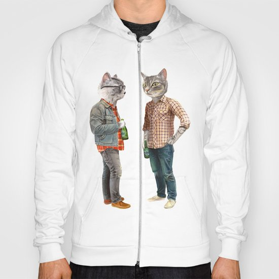 A Cats Night Out Hoody